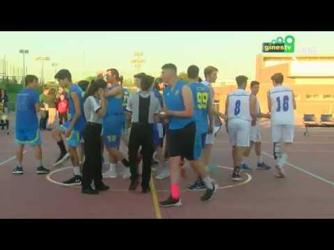 Gines acogió por primera vez las semifinales de la Copa Colegial de baloncesto