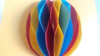 DIY-Osterei 3D Pop-Up Karte. Sehr einfach. Bastelidee zu Ostern
