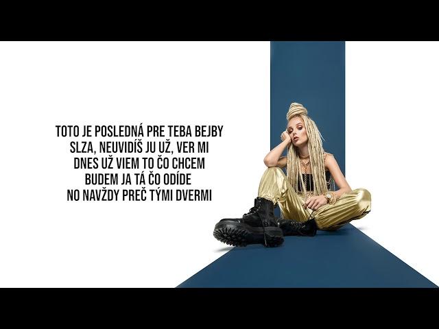 SIMA - Už Ne (prod. Gajlo & SkinnyTom) |LYRICS VIDEO|