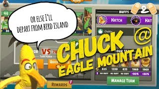 Angry Birds Evolution Chuck Have a Go at Eagle Mountain May 2018 Gameplay