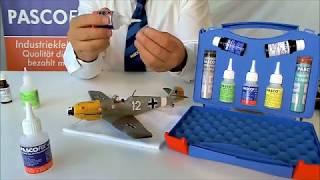 PASCO FIX Industrieklebstoff Industriekleber Hochleistungs Sekundenkleber. glue for all materials