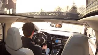 Toyota Auris Hybrid Fahraufnahmen