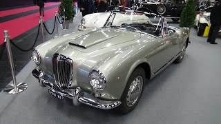 1955-1958 - Lancia Aurelia Convertible - Exterior and Interior - Classic Expo Salzburg 2015