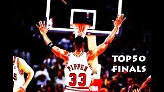 SCOTTIE PIPPEN TOP50 NBA FINALS