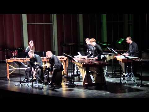 """WVU Percussion Ensemble - """"Catching Shadows"""""""