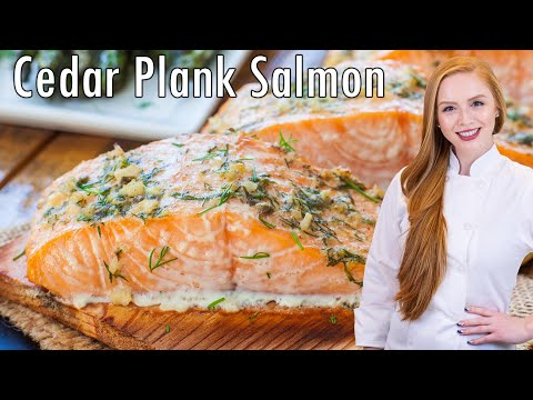 Lemon Herb Cedar Plank Salmon
