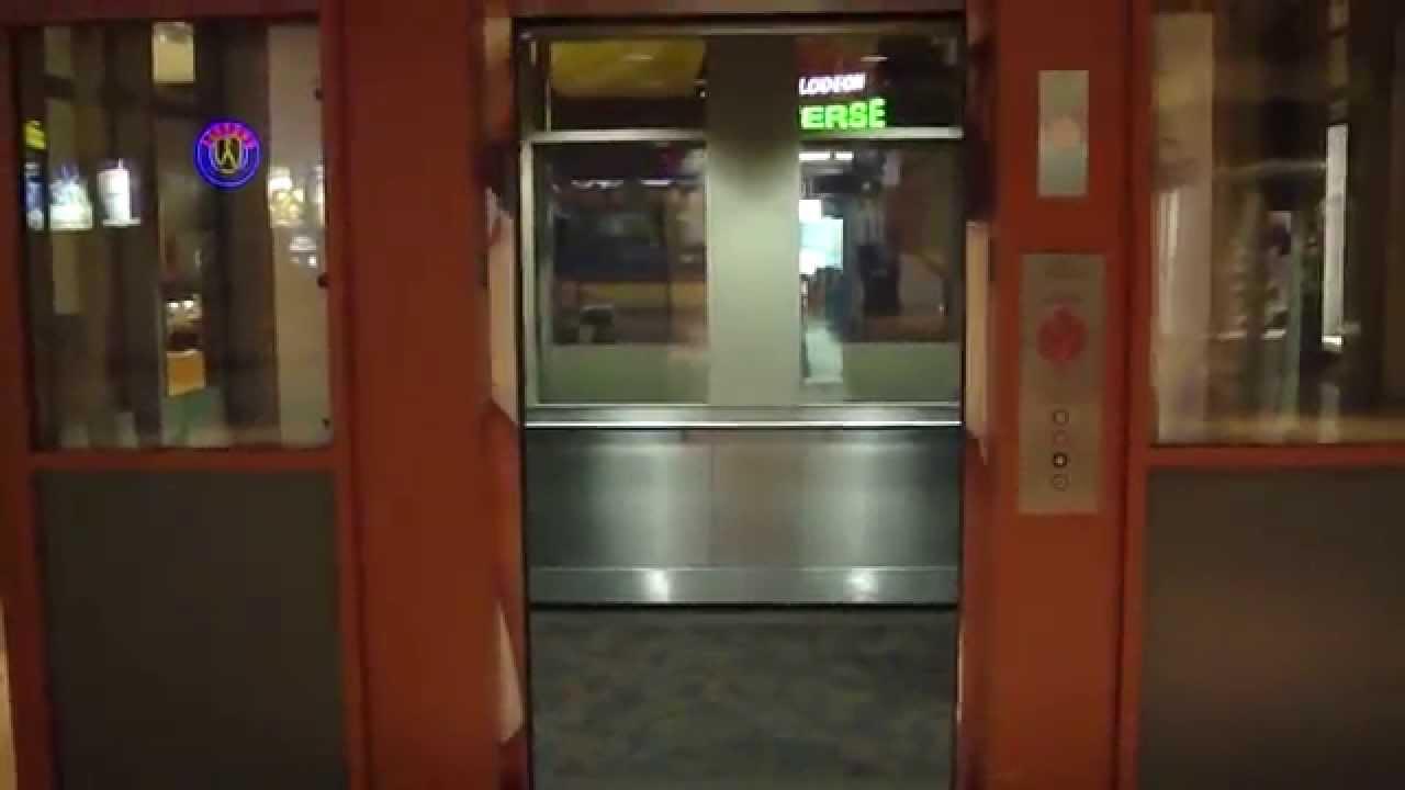 Otis Hydraulic elevator @ Mall of America North Garden After Closing ...