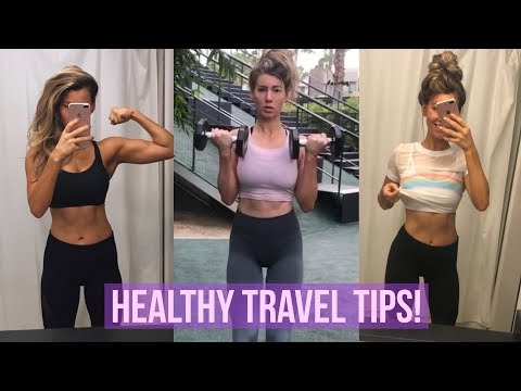 Fitness Travel Tips | ANNA VICTORIA