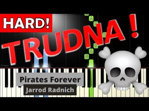 🎹 Pirates Forever (Jarrod Radnich) - Piano Tutorial (TRUDNA! wersja) 🎹