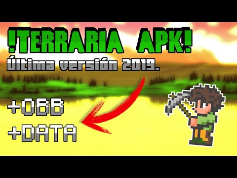 DESCARGAR TERRARIA APK + OBB + DATA 2019  #Smartphone #Android