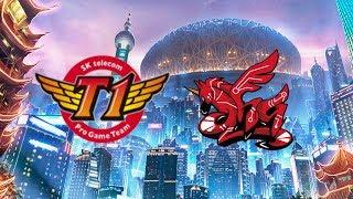 SK Telecom T1 vs AHQ e Sports Club (SKT vs AHQ) Highlights World Championship 2017 Group Stage Day 3