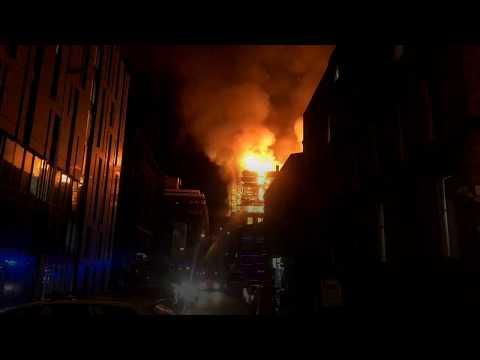 A Glasgow, une des meilleures écoles d'art du monde a été dévorée par les flammes