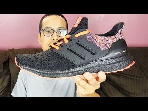 97ae73ae3affb Mi Adidas Ultra Boost 4.0 Multicolor Review! - YouTube