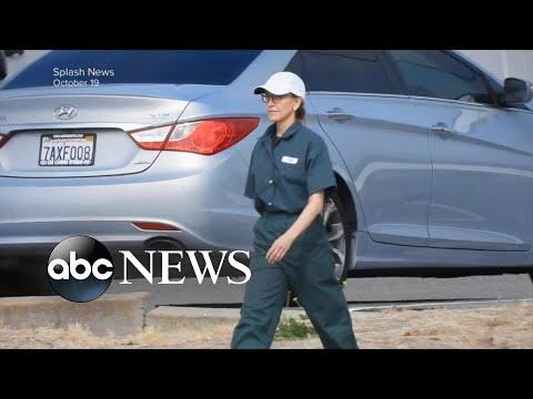 Actress Felicity Huffman serves 11 days of 14-day sentence