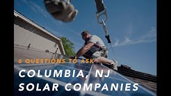 Solar Companies in Columbia NJ 07832