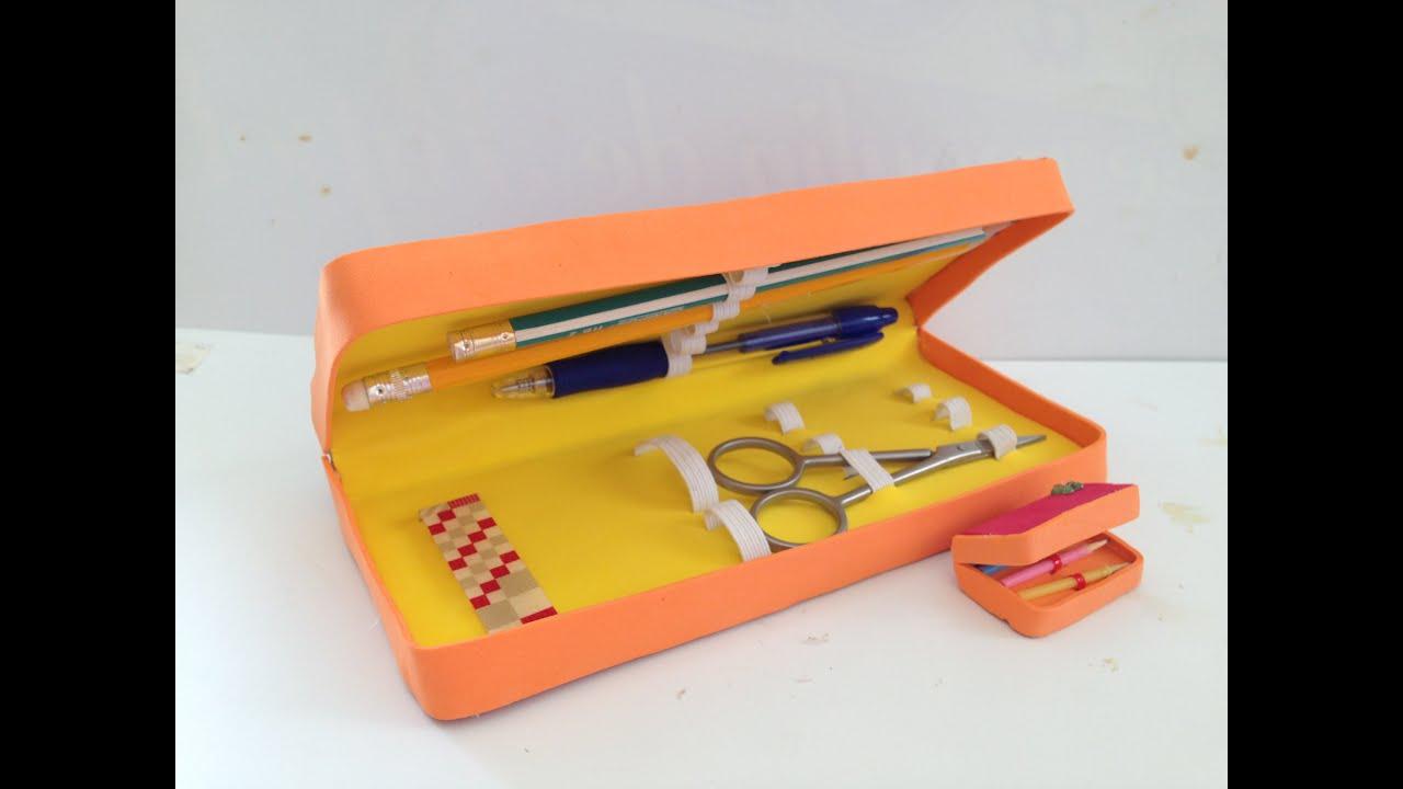 DIY Pencil Case - YouTube