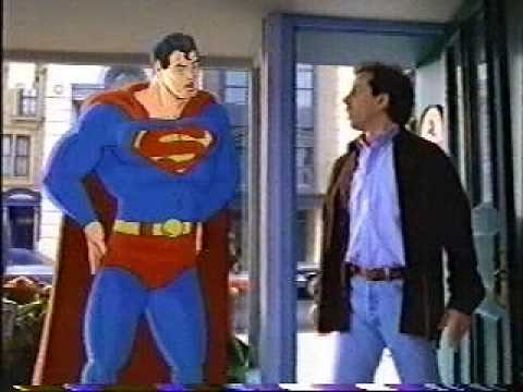 American Express commercial: Seinfeld & Superman