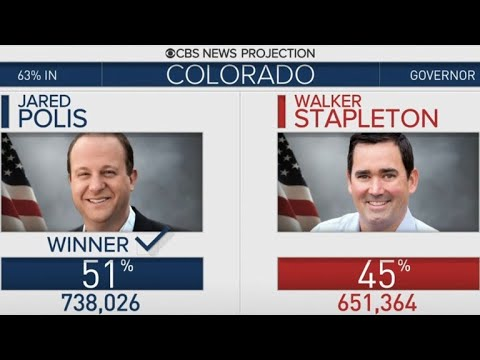 Colorado elects country's first openly gay governor Jared Polis