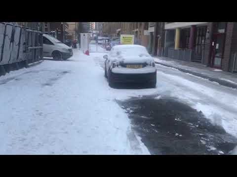 East of the beast London weather snow