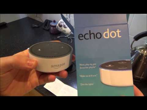 Setting up the Amazon Echo Dot (2nd generation) for beginners