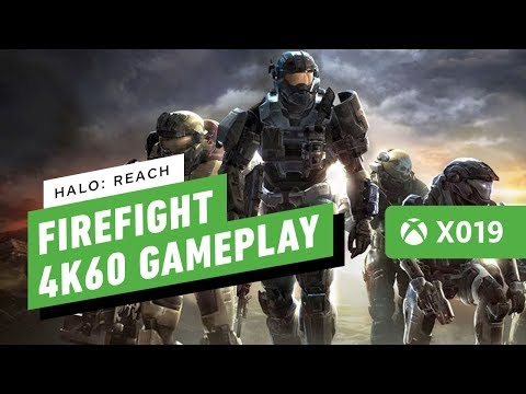 Halo: Reach - Firefight 4K 60fps PC Gameplay (The Master Chief Collection) | X019