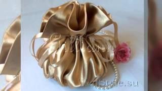 видео Модный свадебный клатч