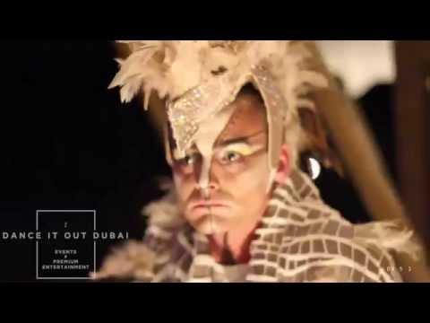 """""""DANCE IT OUT DUBAI Events & Entertainment"""" - ARABIC SHOW DUBAI - DESERT WANDERER"""
