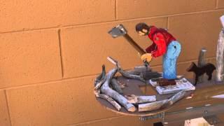 Woodchopper whirligig synthesiser