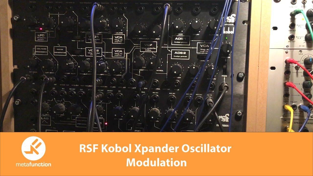 RSF Kobol Xpander Oscillator Modulation