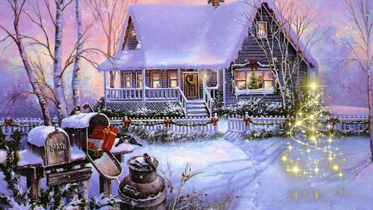 Christmas instrumental music, Christmas peaceful music \