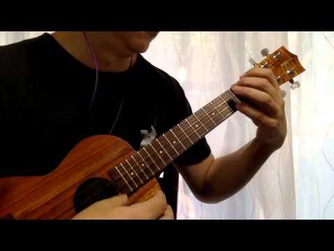 Something  the Beatles / Solo ukulele cover