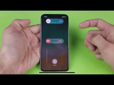 How to turn off or restart iphone x, how to turn off iphone x, how to shut down iphone x without usi.