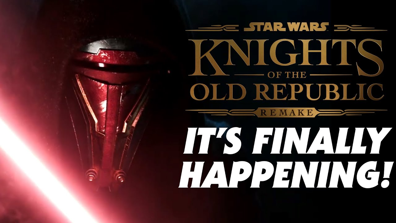 Star Wars: Knights of the Old Republic remake announced