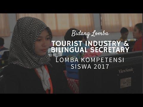 Tourist Industry & Bilingual Secretary - LKS 2017 Surakarta