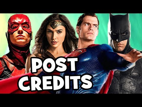 Justice League POST CREDITS & Justice League 2 Theory Explained