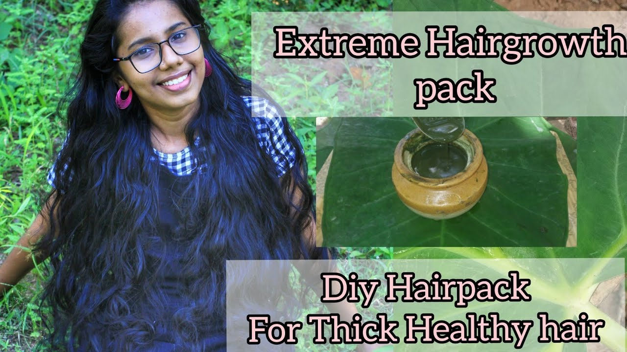 Diy Extreme Hairgrowth Pack Indigo For Hairgrowth, Thickening Do it yourself with swathy Haircare