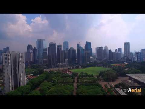 Aerial: Gelora Bung Karno Senayan - Jakarta