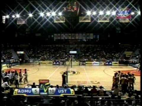 Shakey's V-League, Season 7 -- UST vs. ADMU, 5th Set, 5-13 ...