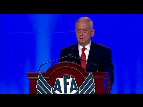 Secretary of Defense Jim Mattis Speaks at AFA Conference