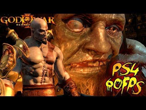 God Of War III Remastered Part 3 - Meet Hephaestus Walkthrough Gameplay