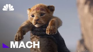 'The Lion King' Is A Look Into The Future Of Virtual Reality Filmmaking | Mach | NBC News