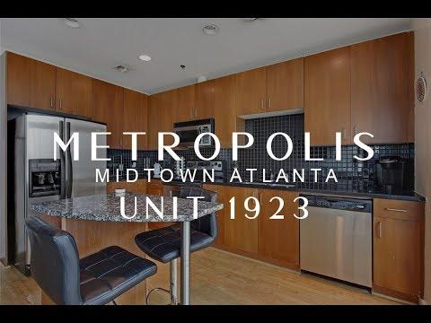 Tour Metropolis Condos | Unit 1923 | Midtown Atlanta | Above Atlanta Realty