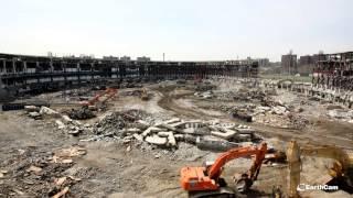 New York Yankee Stadium Demolition Time-Lapse