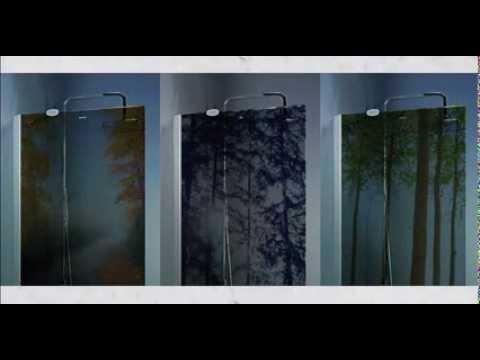 Fotografias impresas en cristal