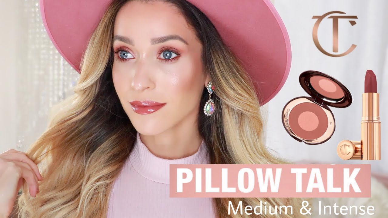 the entire pillow talk collection unboxing comparison swatches