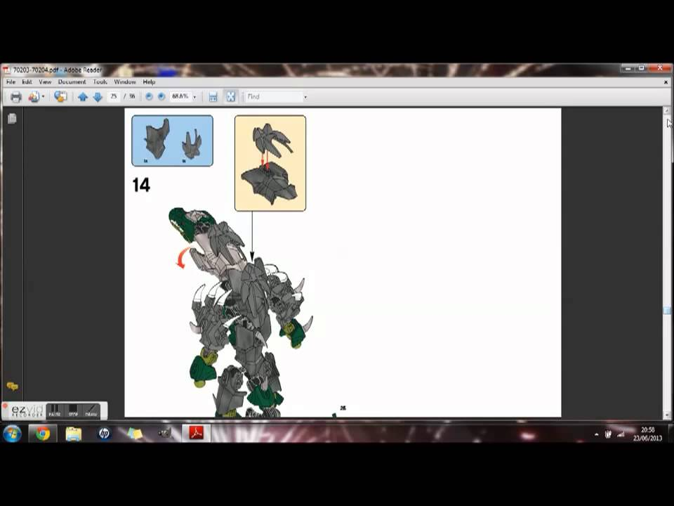 Craggerworriz Combo Model Instructions Youtube