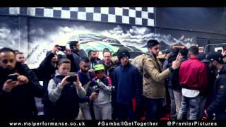 MSL Performance Gumball 3000 Get together Birmingham 7th December 2014 Official Video