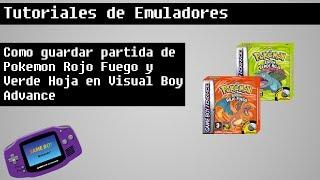 Como solucionar problema de guardar en Pokémon Rojo Fuego - Verde Hoja en Español 720p
