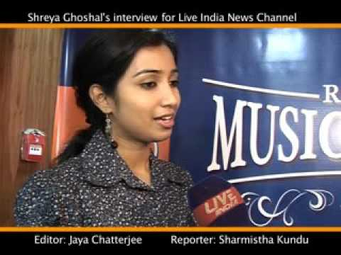 shreya ghoshal interview -national award for ye ishq hai song
