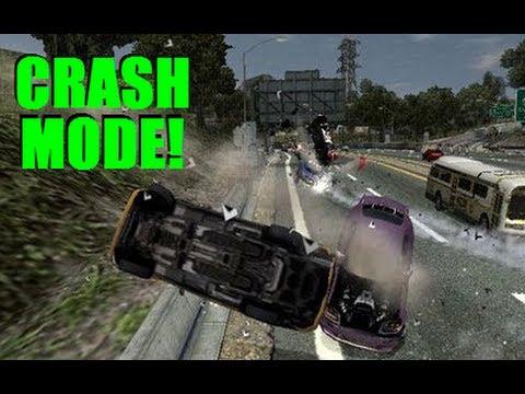 Burnout Crash Mode - Part 1: Crash Test Dummies